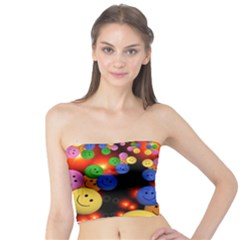 Smiley Laugh Funny Cheerful Tube Top