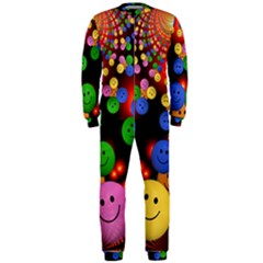 Smiley Laugh Funny Cheerful Onepiece Jumpsuit (men)