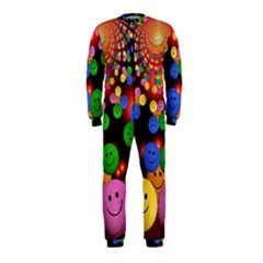 Smiley Laugh Funny Cheerful OnePiece Jumpsuit (Kids)
