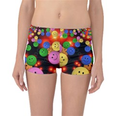 Smiley Laugh Funny Cheerful Boyleg Bikini Bottoms