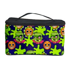 Smiley Background Smiley Grunge Cosmetic Storage Case