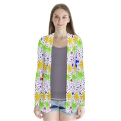 Snowflake Pattern Repeated Cardigans