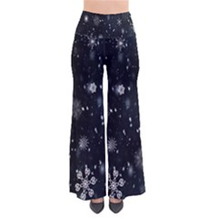 Snowflake Snow Snowing Winter Cold Pants