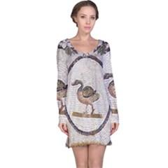 Sousse Mosaic Xenia Patterns Long Sleeve Nightdress