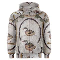 Sousse Mosaic Xenia Patterns Men s Zipper Hoodie