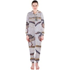 Sousse Mosaic Xenia Patterns Hooded Jumpsuit (ladies)
