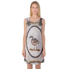 Sousse Mosaic Xenia Patterns Sleeveless Satin Nightdress