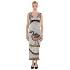Sousse Mosaic Xenia Patterns Fitted Maxi Dress