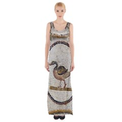 Sousse Mosaic Xenia Patterns Maxi Thigh Split Dress