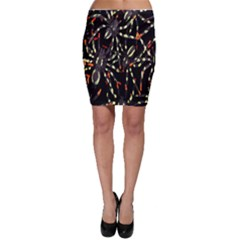 Spiders Colorful Bodycon Skirt