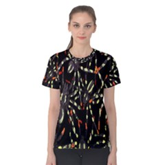Spiders Colorful Women s Cotton Tee