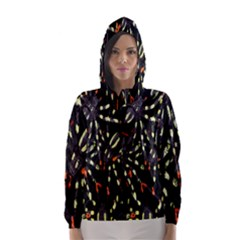 Spiders Colorful Hooded Wind Breaker (Women)