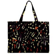 Spiders Colorful Zipper Mini Tote Bag