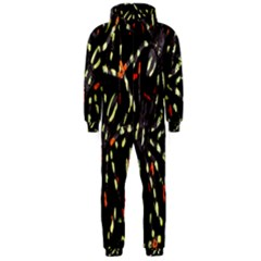 Spiders Colorful Hooded Jumpsuit (Men)