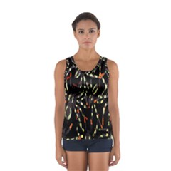 Spiders Colorful Women s Sport Tank Top