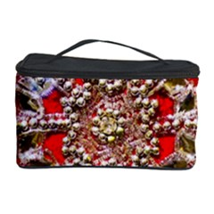 Snowflake Jeweled Cosmetic Storage Case