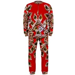 Snowflake Jeweled Onepiece Jumpsuit (men)
