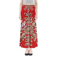 Snowflake Jeweled Maxi Skirts