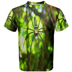 Spider Spiders Web Spider Web Men s Cotton Tee