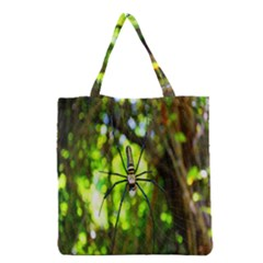 Spider Spiders Web Spider Web Grocery Tote Bag