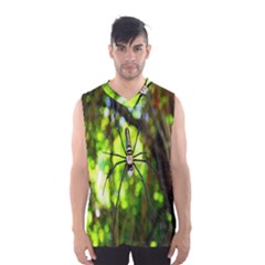 Spider Spiders Web Spider Web Men s Basketball Tank Top