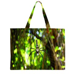 Spider Spiders Web Spider Web Large Tote Bag