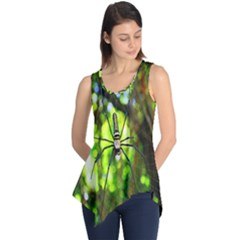 Spider Spiders Web Spider Web Sleeveless Tunic