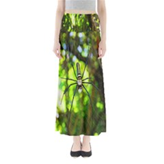 Spider Spiders Web Spider Web Maxi Skirts