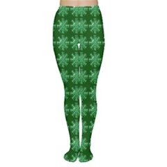 Snowflakes Square Women s Tights