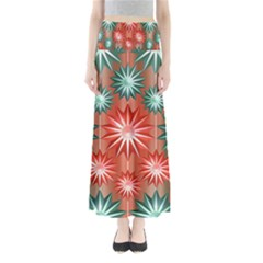 Star Pattern  Maxi Skirts
