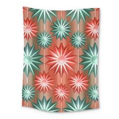 Star Pattern  Medium Tapestry