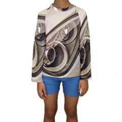 Spotlight Light Auto Kids  Long Sleeve Swimwear