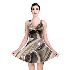 Spotlight Light Auto Reversible Skater Dress