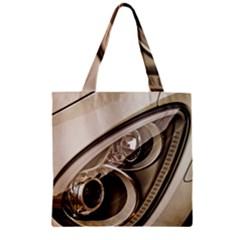 Spotlight Light Auto Zipper Grocery Tote Bag