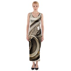 Spotlight Light Auto Fitted Maxi Dress