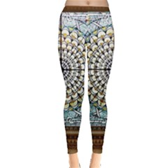 Stained Glass Window Library Of Congress Leggings