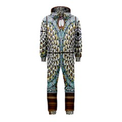Stained Glass Window Library Of Congress Hooded Jumpsuit (Kids)
