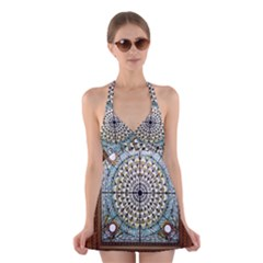 Stained Glass Window Library Of Congress Halter Swimsuit Dress