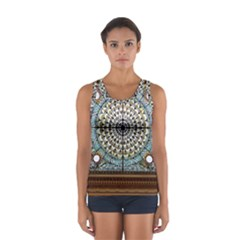 Stained Glass Window Library Of Congress Women s Sport Tank Top