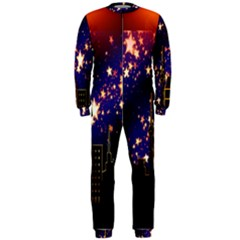 Star Advent Christmas Eve Christmas Onepiece Jumpsuit (men)