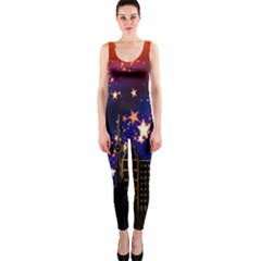 Star Advent Christmas Eve Christmas OnePiece Catsuit
