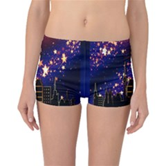 Star Advent Christmas Eve Christmas Boyleg Bikini Bottoms