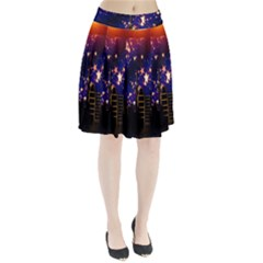 Star Advent Christmas Eve Christmas Pleated Skirt