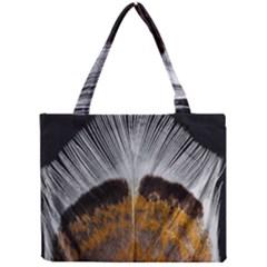 Spring Bird Feather Turkey Feather Mini Tote Bag