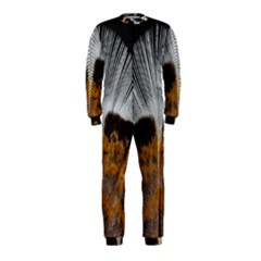 Spring Bird Feather Turkey Feather OnePiece Jumpsuit (Kids)