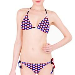 Star Pattern Bikini Set