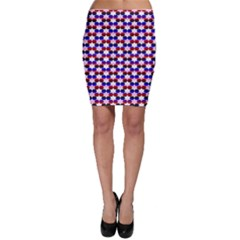 Star Pattern Bodycon Skirt