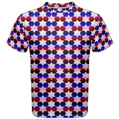 Star Pattern Men s Cotton Tee
