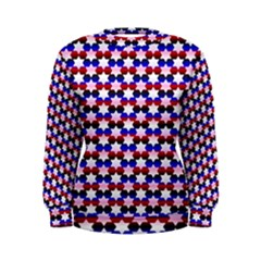 Star Pattern Women s Sweatshirt