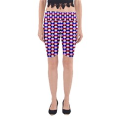 Star Pattern Yoga Cropped Leggings